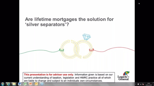 Are Lifetime Mortgages the solution for 'silver separators'?