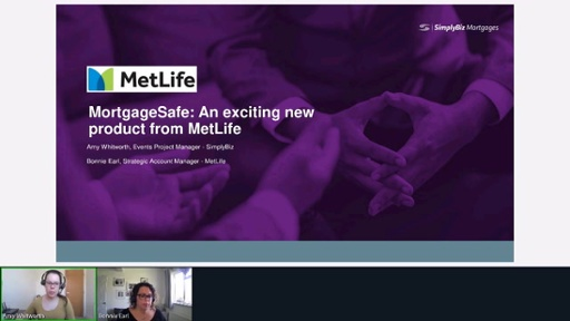 MetLife - MortgageSafe: An exciting new product from MetLife