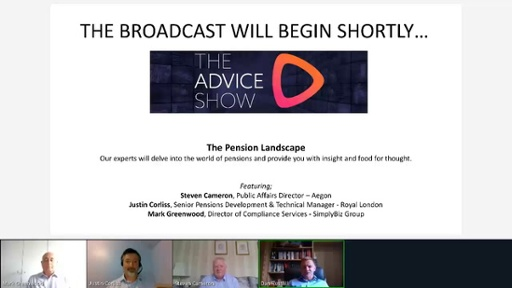 The Advice Show July 2020 - Part Three: The Pension Landscape