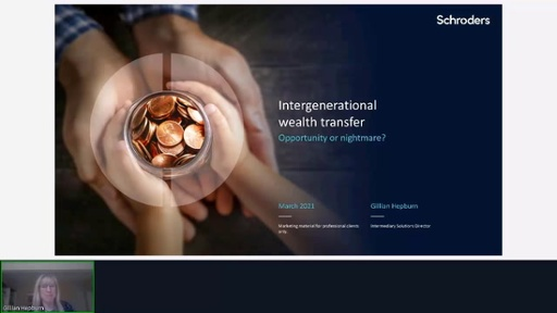 Schroders - Intergenerational Wealth Transfer: Opportunity or Nightmare?