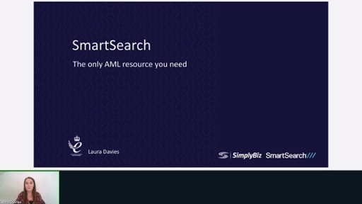 Electronic AML verification with Smart Search