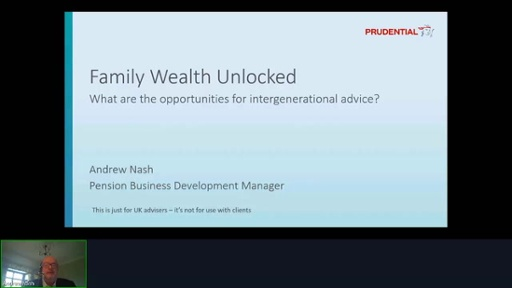Prudential - Family Wealth Unlocked - What are the opportunities for intergenerational advice?