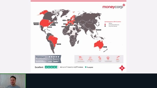 Foreign exchange with Moneycorp
