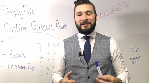 Online Conduct Rules Training 1