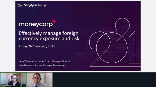 Moneycorp - Effectively manage foreign currency exposure and risk