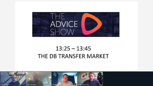 The Advice Show December 2020 - The DB transfer market
