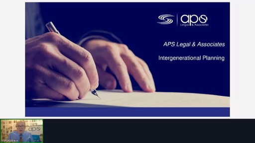 APS Legal & Associates - Implementing intergenerational planning into your business through estate planning